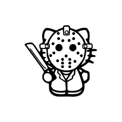 Hello Kitty Jason 142 Vinyl Sticker