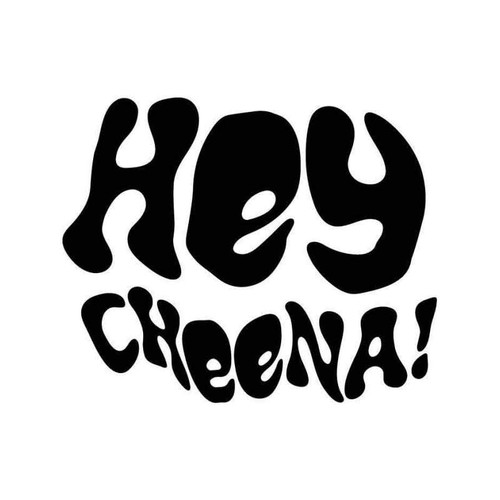 Hey Cheena Clockwork Orange 2 Vinyl Sticker