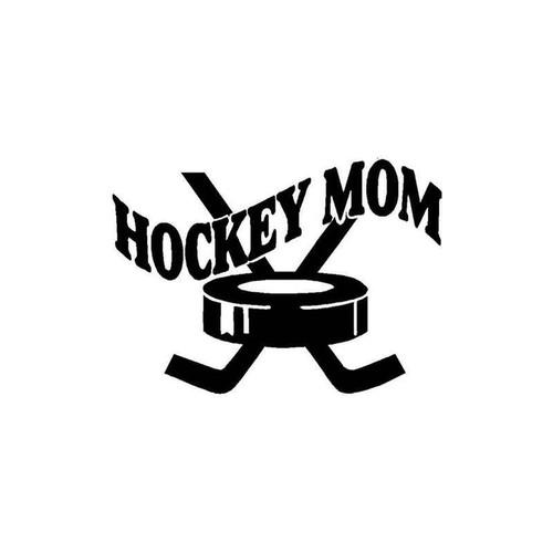 Hockey Mom 093 Vinyl Sticker