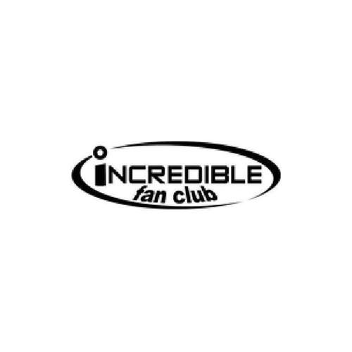 Incredible Fan Club Vinyl Sticker