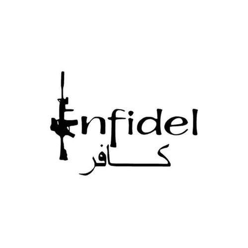 Infidel 73 Vinyl Sticker