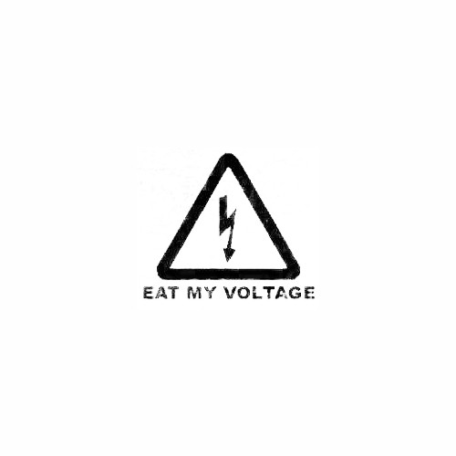 Eat My Voltage Window Decal Size option will determine the size from the longest side Industry standard high performance calendared vinyl film Cut from Oracle 651 2.5 mil Outdoor durability is 7 years Glossy surface finish