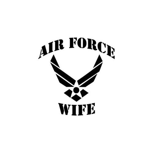 Jdm s Military Air Force Wife Jdm Vinyl Sticker