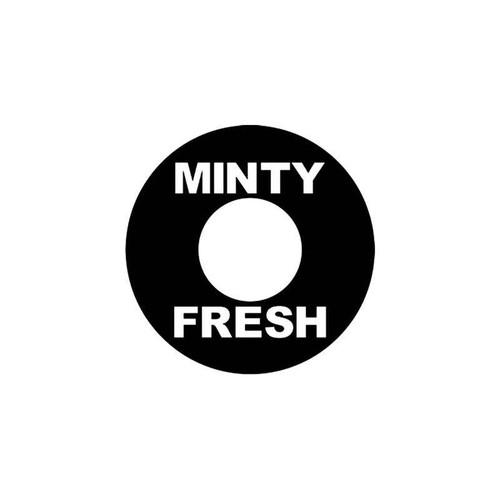 Jdm s Minty Fresh Jdm Vinyl Sticker