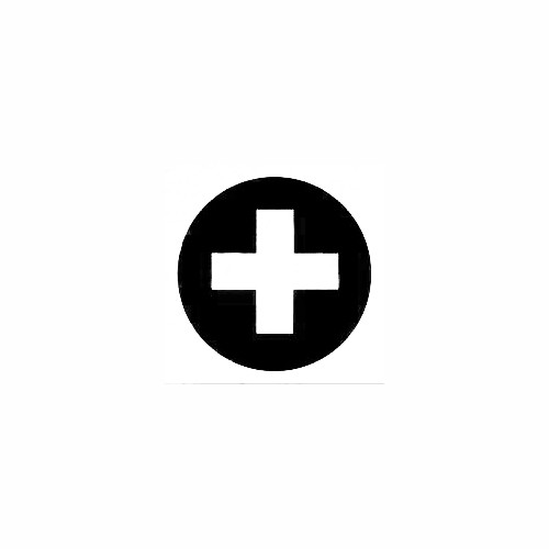 First Aid Symbol Decal (01) Size option will determine the size from the longest side Industry standard high performance calendared vinyl film Cut from Oracle 651 2.5 mil Outdoor durability is 7 years Glossy surface finish