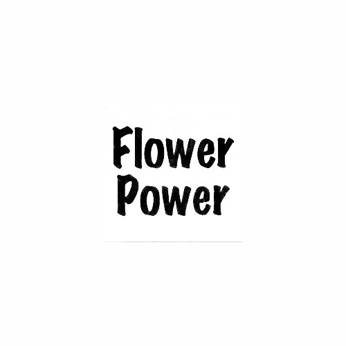 Flower Power Window Decal (01) Size option will determine the size from the longest side Industry standard high performance calendared vinyl film Cut from Oracle 651 2.5 mil Outdoor durability is 7 years Glossy surface finish