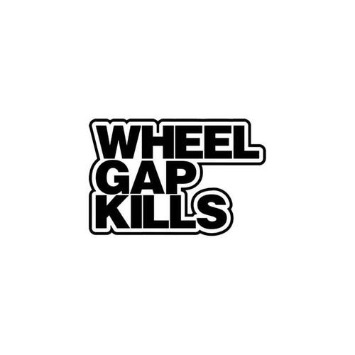 Jdm s Wheel Gap Kills Jdm Vinyl Sticker