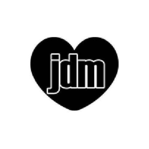 Jdm Inside Heart Vinyl Sticker
