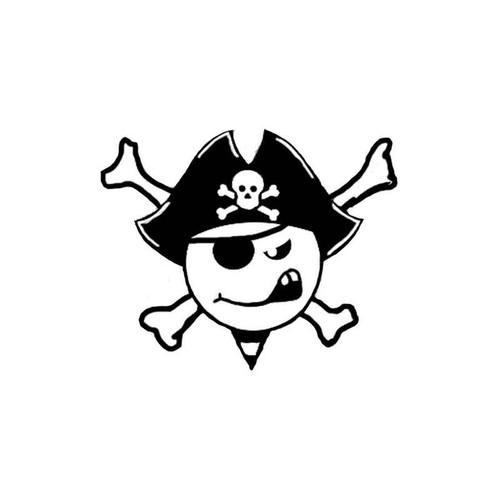 Jolly Roger Pirate 89 Vinyl Sticker