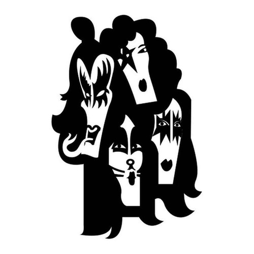 Kiss 334 Vinyl Sticker