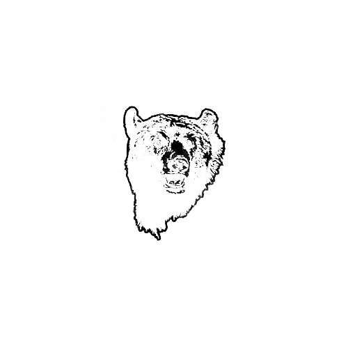 Grizzly Bear Face Decal Size option will determine the size from the longest side Industry standard high performance calendared vinyl film Cut from Oracle 651 2.5 mil Outdoor durability is 7 years Glossy surface finish
