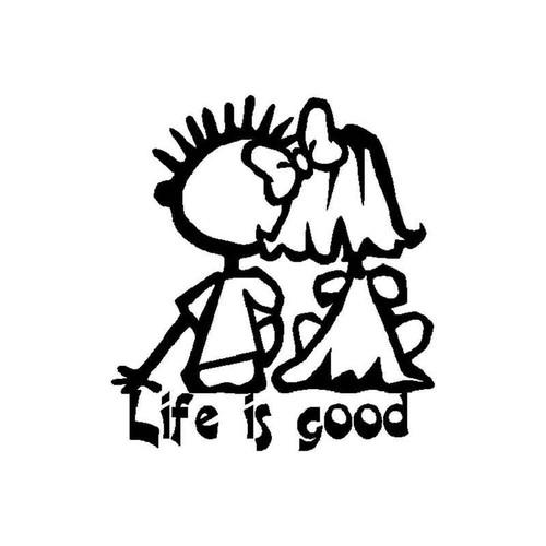 Life Is Good 319 Vinyl Sticker