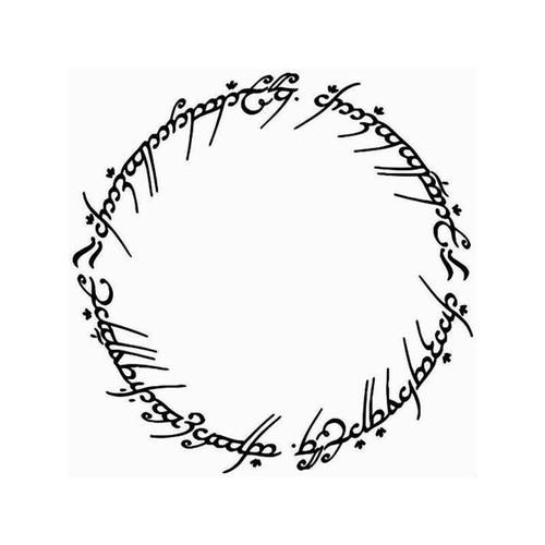 Lord Of The Rings Elvish Circle