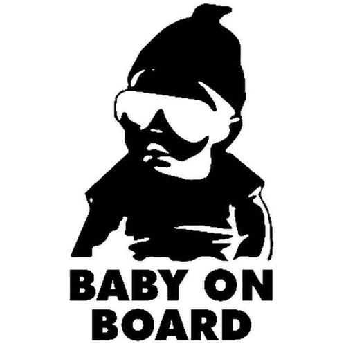 Los Baby On Board 855 Vinyl Sticker
