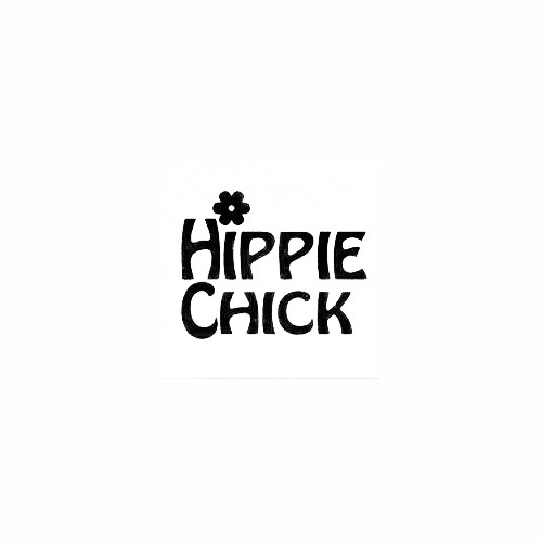 Hippie Chick Window Decal Size option will determine the size from the longest side Industry standard high performance calendared vinyl film Cut from Oracle 651 2.5 mil Outdoor durability is 7 years Glossy surface finish