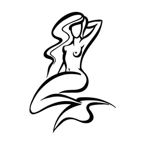 Mermaid 034 Vinyl Sticker