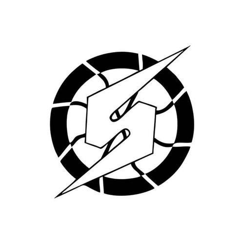Metroid Samus Logo 005 Vinyl Sticker