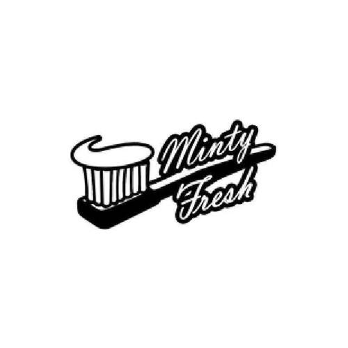 Minty Fresh Vinyl Sticker