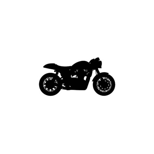 Motorcycle s Cafe Racer Motorcycle Vinyl Sticker