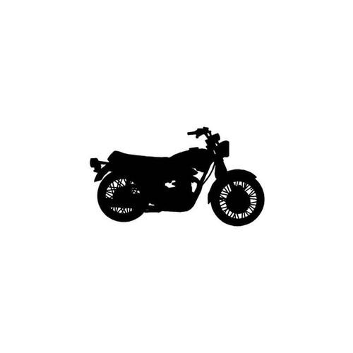Motorcycle s Yamaha Xs650 Motorcycle Vinyl Sticker
