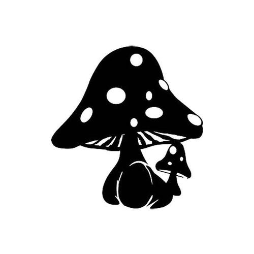 Mushroom 10 Vinyl Sticker