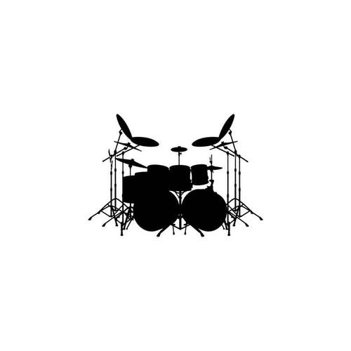 Music s Drums Music Style 1 Vinyl Sticker