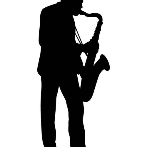 Music s Trombone Player Musical Vinyl Sticker