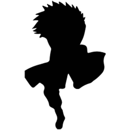 Naruto Choji Akimichi 4 Vinyl Sticker