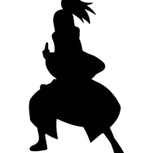 Naruto Deidara 5 Vinyl Sticker