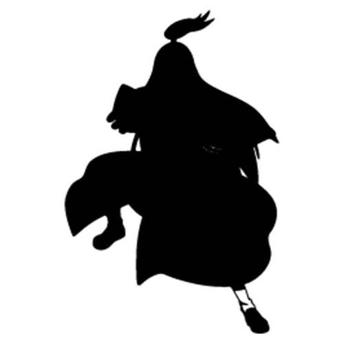 Naruto Deidara 7 Vinyl Sticker