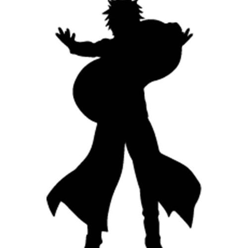 Naruto Gaara 6 Vinyl Sticker