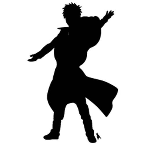 Naruto Gaara 9 Vinyl Sticker