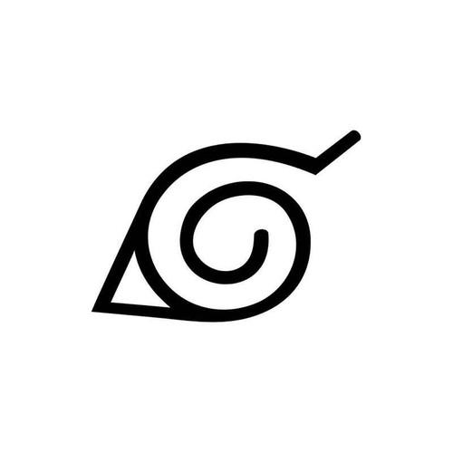 Naruto Konoha 007 Vinyl Sticker