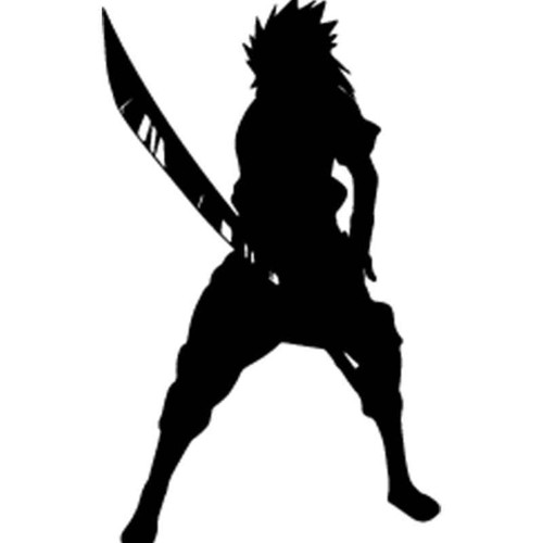 Naruto Sasuke Uchiha 9 Vinyl Sticker