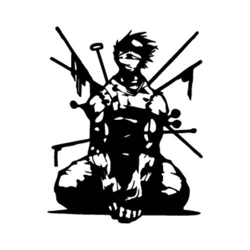 Naruto Zabuza Momochi 5 Vinyl Sticker