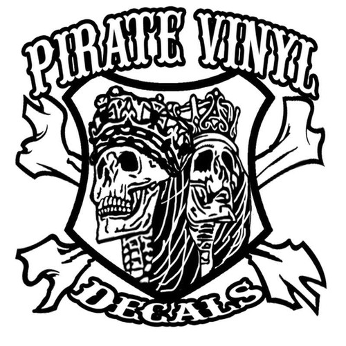 New Logo 9 Contact Vinyl Sticker