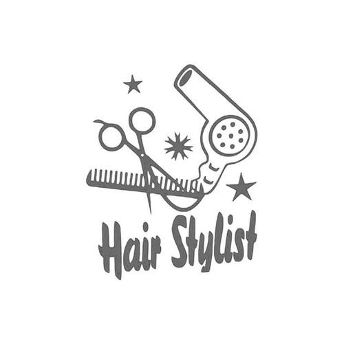 Occupational s Hair Stylist Occupation Vinyl Sticker