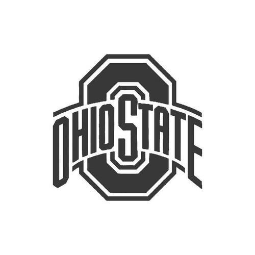 Ohio State Buckeyes Cornhole Vinyl Sticker