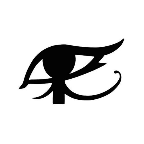 Overwatch Ana Eye Of Ra Tattoo Spray For Vinyl Sticker