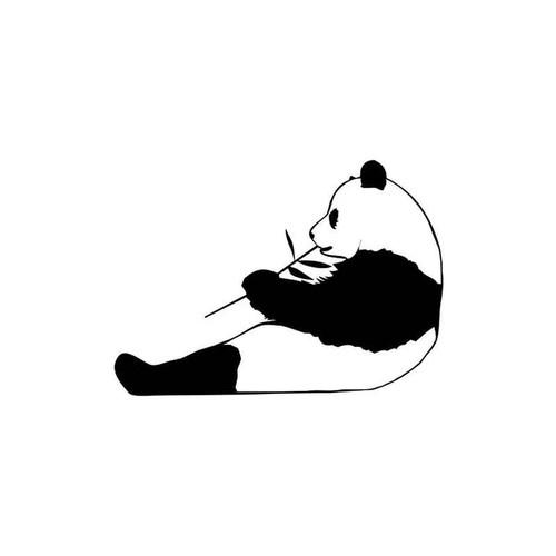 Panda 180 Vinyl Sticker