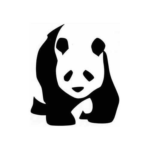 Panda 67 Vinyl Sticker