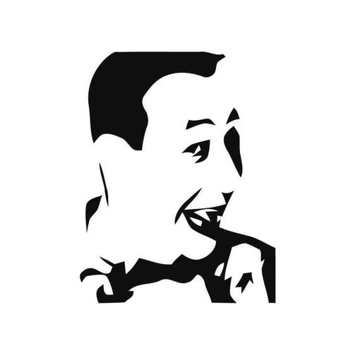 Pee Wee Herman Vinyl Sticker