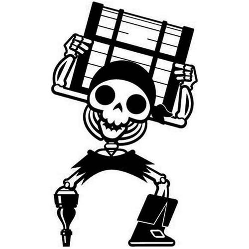 Pirate 77 Vinyl Sticker