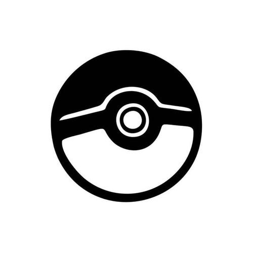 Pokemon Go Pokeball 017 Vinyl Sticker
