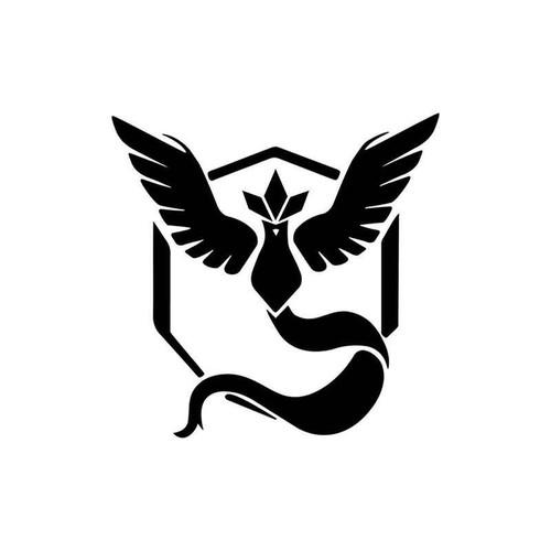Pokemon Go Team Mystic Symbol 019 Vinyl Sticker