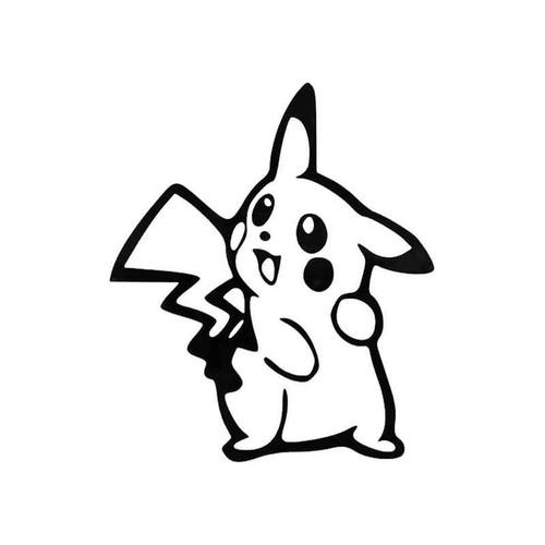Pokemon Pikachu 356 Vinyl Sticker