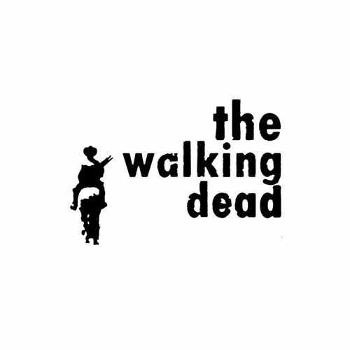 The Walking Dead Lone Ranger  Vinyl Decal Sticker  Size option will determine the size from the longest side Industry standard high performance calendared vinyl film Cut from Oracle 651 2.5 mil Outdoor durability is 7 years Glossy surface finish