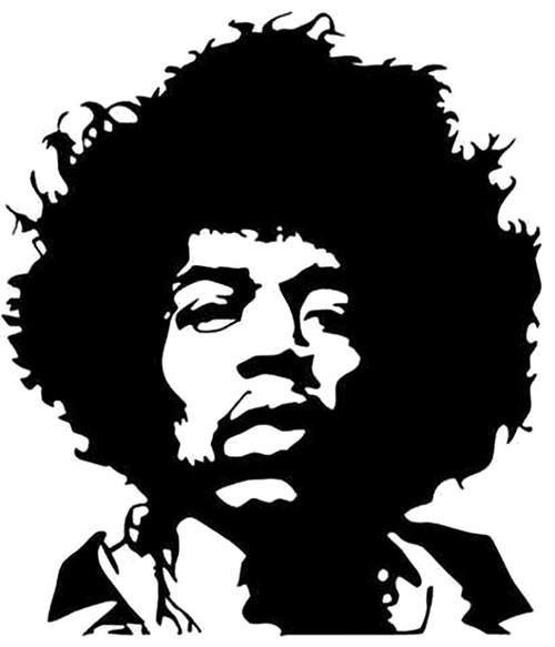 Jimi Hendrix Face