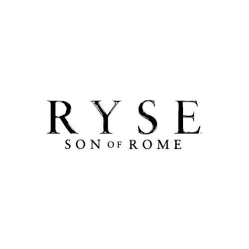Ryse Ryse Son Of Rome Logo Silhouette Vinyl Sticker