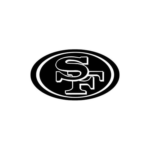 San Francisco 49ers 38 Vinyl Sticker